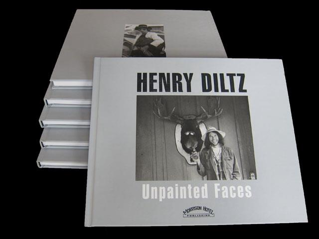 Unpainted Faces by Henry Diltz
