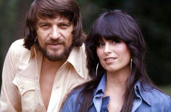 Waylon Jennings and Jessi Colter