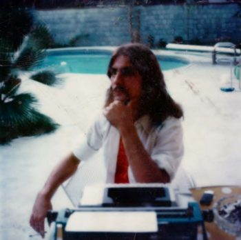 Stephen K. Peeples, Dallas, July 1976. Photo: Roxy Gordon.