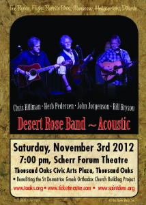 Rock Hall of Famer Chris Hillman & Desert Rose Band to play rare SoCal show
