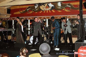 Prima Jr. & Band pack stage, blow lid off the Malibu Inn