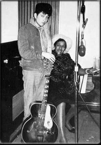 Bob Dylan and Victoria Spivey