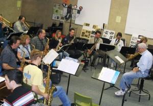 Studio Jazz Ensemble directed by Dirk Fischer, COC, Nov. 23, 2004. Photo: Stephen K. Peeples
