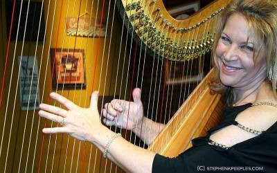 Jazz Harp Queen Lori Andrews Encores on 'House Blend'