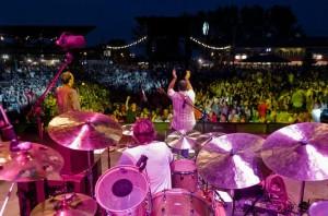 Nikhil Korula and the NK Band at Summerfest 2013, Milwaukee