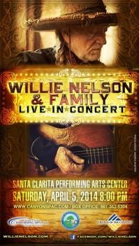 Willie Nelson & Family Live In Concert in Santa Clarita