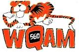 WQAM 560 Tiger logo