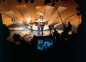 Lewisohn Beatles bio - The Beatles perform live on the Ed Sullivan Show Feb. 9, 1964.