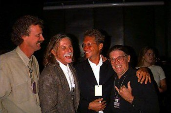 Peter Blachley, Gary Burdon, Gerry Beckley of America, Henry Diltz Under the Covers