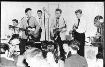 Lewisohn Beatles bio - The Quarry Men (with Paul McCartney) at New Clubmoor Hall