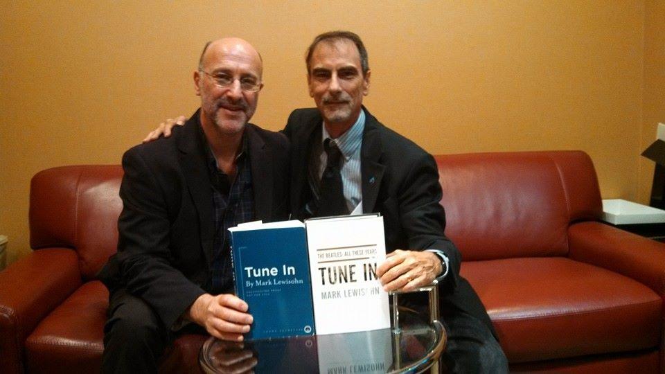 Mark Lewisohn and Stephen K. Peeples, 10-28-13