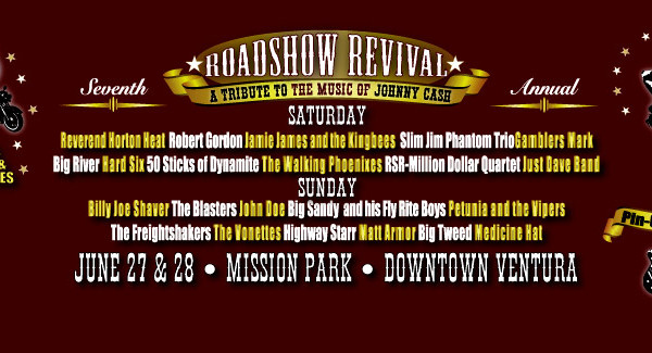 Johnny Cash Roadshow Revival, Ventura, 2014-2015