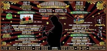 Johnny Cash Roadshow Revival 2015 set times