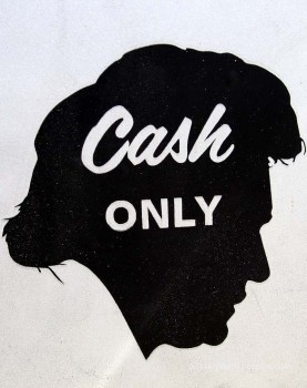 The Cold Hard Cash Show logo at Roadshow Revival 2014