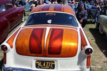 Custon car at Johnny Cash Roadshow Revival 2014