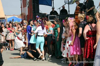 Pinup contest and Dale Watson & The Lone Stars at Johnny Cash Roadshow Revival 2014, Ventura