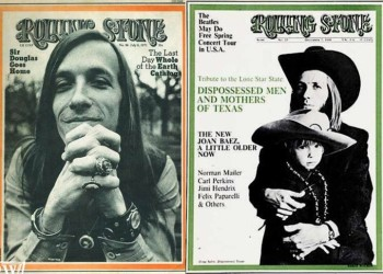 Rolling Stone early '70s coverage of Doug Sahm and Austin