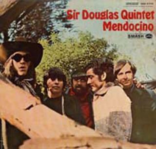 """Sir Douglas Quintet 'Mendocino"""" album cover"""
