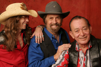 Texas Tornados Shawn Sahm, Augie Meyers and Flaco Jimenez