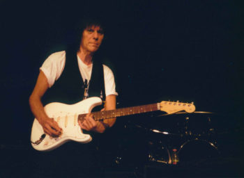 Jeff Beck at the Commodore Ballroom, Vancouver, January 2001. Photo by Matt Gibbons.