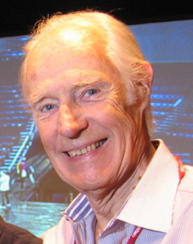 "Sir George Martin in Las Vegas for the premiere of ""LOVE"" in June 2006. Photo: Adam Sharp."