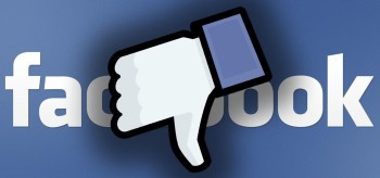 Facebook thumbs down graphic