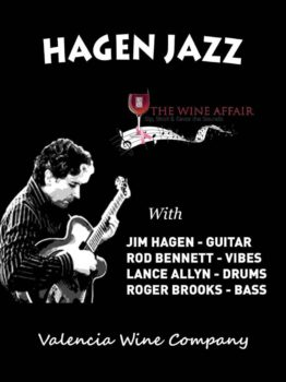 Jim Hagen Hagen Jazz gig flyer