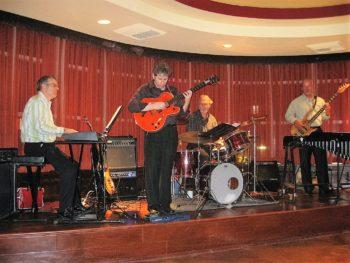Michael Hearn, Jim Hagen, Jim Morrison, Rod Bennett, Bella Cucina, Santa Clarita, October 2009.