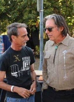 John Doe (right) and Stephen K. Peeples at Roadshow Revival 2016. Photo by Steve Fenster.