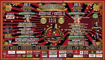 Roadshow Revival 2016 poster