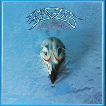 Eagles' 'Their Greatest Hits' with cover art by Boyd Elder, 1976.