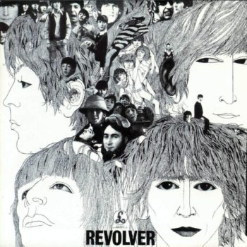 Beatles 1966 Revolver front cover