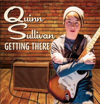 Buddy Guy protege Quinn Sullivan Getting There album cover