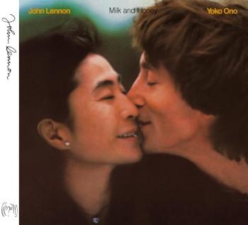 Lennonology - John Lennon & Yoko Ono 'Milk and Honey' cover art, 1981.