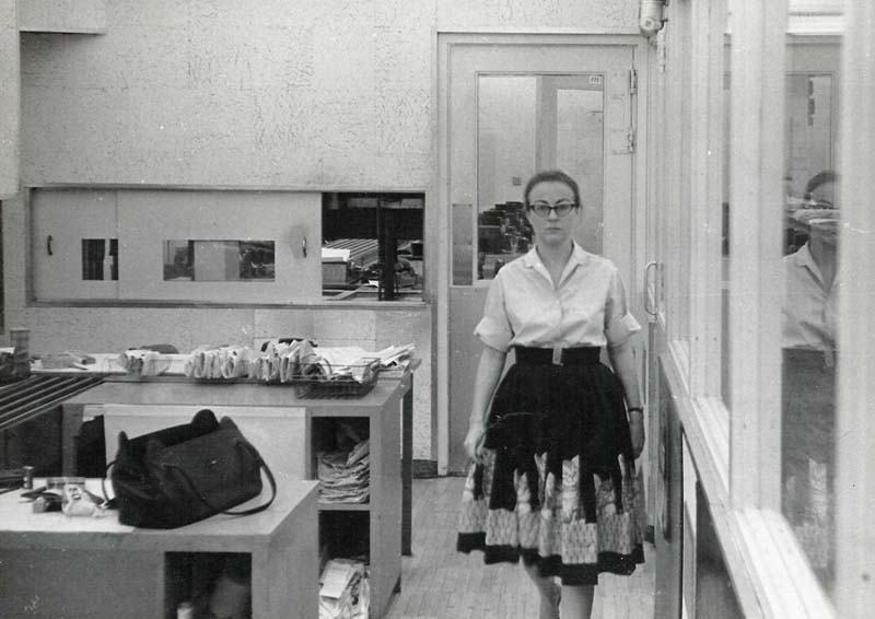 Joan Ruth Sullivan Peeples, Miami News, March 1964. Photo: Stephen K. Peeples.
