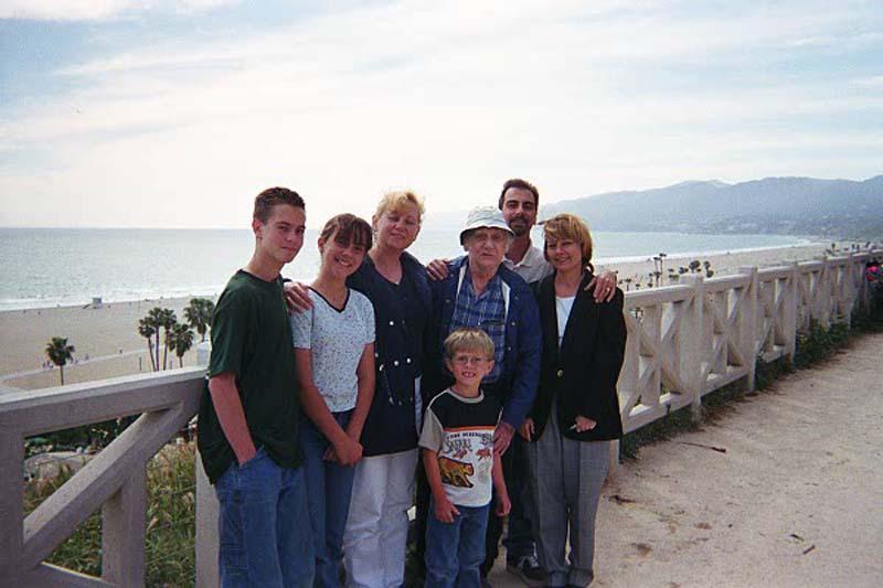 The Peeples Family, Santa Monica Palisades, 2000.