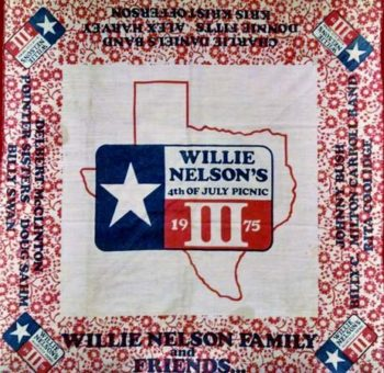 Lone Star Beer Willie Nelson 1975 4th of July Picnic