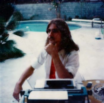 Stephen K. Peeples, Dallas, April 1976. Photo: Roxy Gordon.