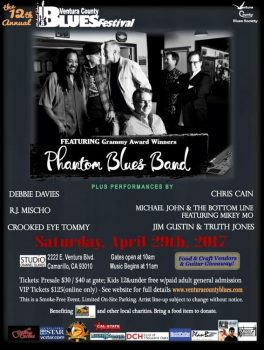 Ventura County Blues Festival flyer