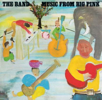 Wild Honey Orchestra Big Pink Bob Dylan illustration