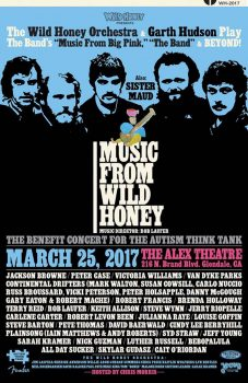 Wild Honey Orchestra flyer