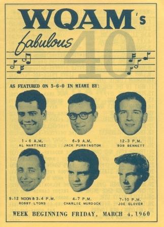 WQAM survey 1960