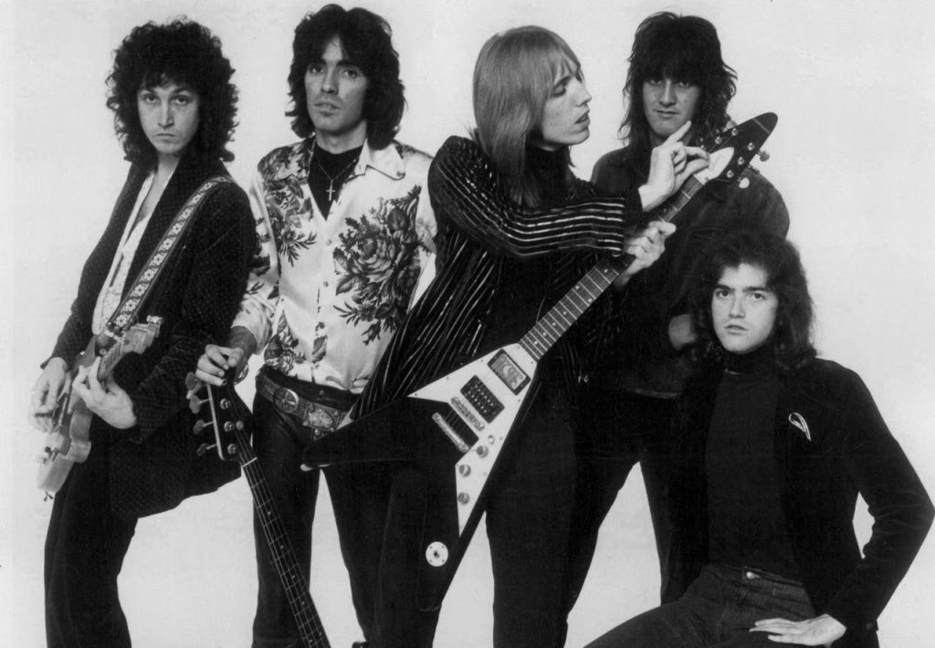 Tom Petty & The Heartbreakers PR photo, 1977