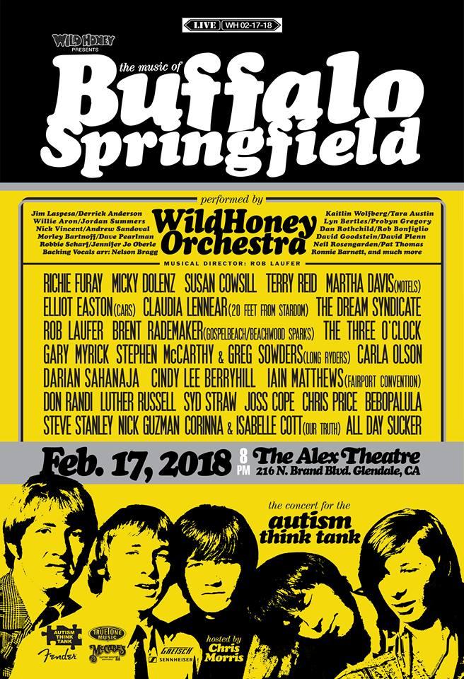 Wild Honey Buffalo Springfield poster 02-08-18