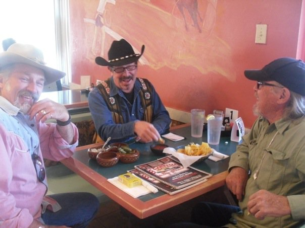 John Thornton, Kinky Friedman, Boyd Elder. Nice boys, when they're asleep.