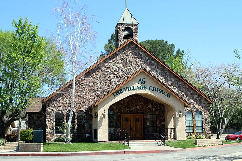 The Village Church in Newhall, California. Photo: Stephen K. Peeples.