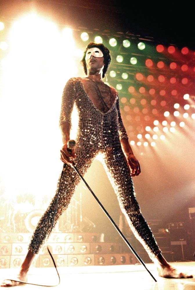 Queen's Freddie Mercury. Photo: Neal Preston, from his book 'Exhilarated and Exhausted.'
