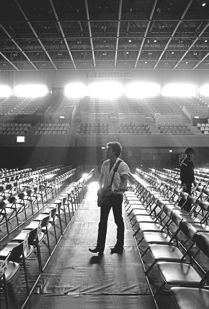 Bruce Springsteen. Photo: Neal Preston, from his book 'Exhilarated and Exhausted.'