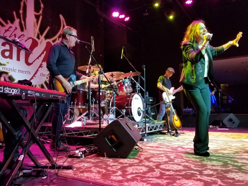 Patty Smyth & Scandal, Canyon Santa Clarita, July 29, 2018. Photo: Stephen K. Peeples.