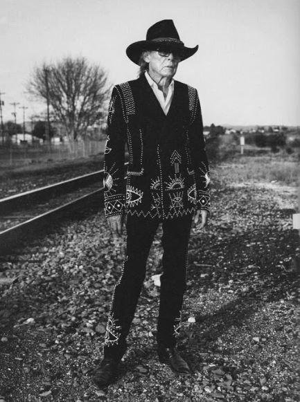 Boyd Elder, Marfa, Texas, 2016. Photo: Ben Weller for Italian Vogue, Courtesy Boyd Elder Estate.